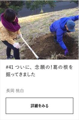 #41 ついに、念願の!葛の根を掘ってきました |YADOKARI×公社二宮団地